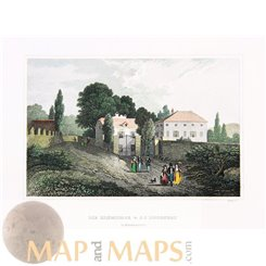 France old prints, House of Jacques Rousseau Meyer 1838