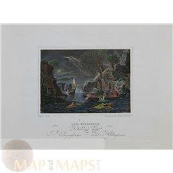 The Deluge Fine art print v. Pommel/Tenier. 1848