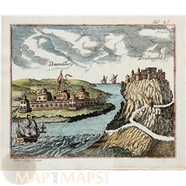 Fortresses Bosporus. Peregrinus In Jerusalem Myller 1732