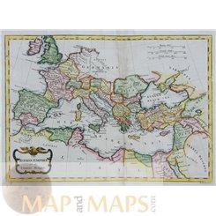 The Roman Empire in the old European World. Conder 1790