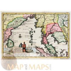 Scheeps Togt Van Malacca na de Golf van Bengale Pieter van der AA 1706