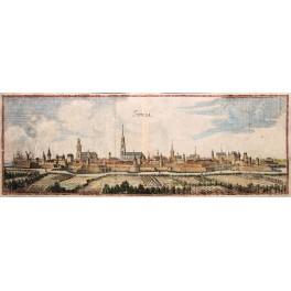 1699 ANTIQUE Gravur. ZWOLLE HOLLAND von Merian