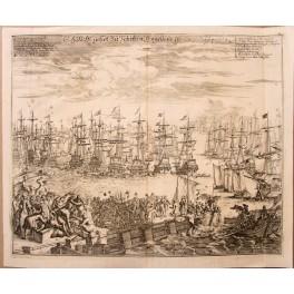 Dutch historical engraving, Prince Maurits of Nassau, Merian 1680