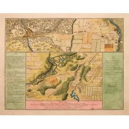 Schlacht von Rümlang Zürich in der Schweiz von JR Holzhalb 1786