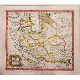 Antike Karte Armenien Persien von John Gibson 1770